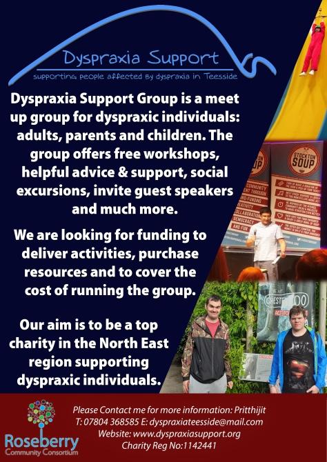 Dyspraxia funding
